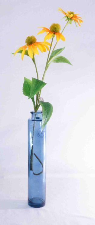 Vaza boca modra fi 6 * 32 cm